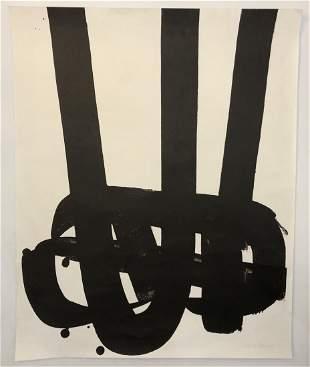 Pierre Soulages Lithograph
