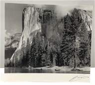 Ansel Adams (El Capitan) Hand Signed