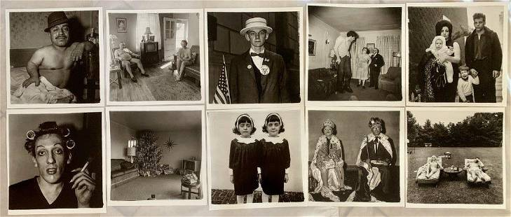 Diane Arbus Limited Ed. Prints (Grouping of 10)
