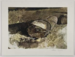 Andrew Wyeth Pencil Signed Print