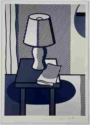 Roy Lichtenstein Hand Signed Print on Paper