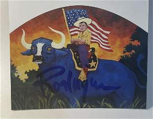 George Rodrigue Hand Signed Print