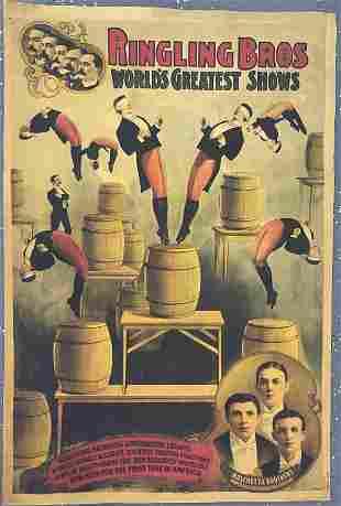Ringling Bros & Barnum Bailey Show Poster