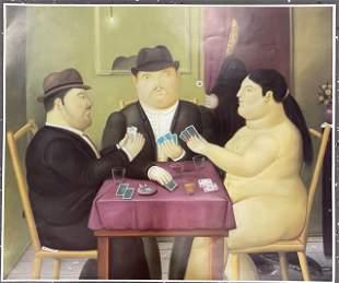 Fernando Botero Print in Colors