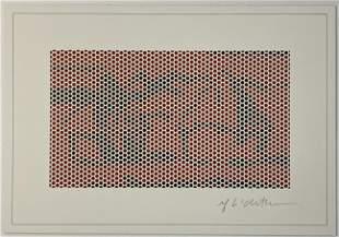 Roy Lichtenstein - Haystack Signed (Gemini G.E.L.)