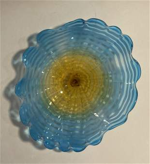 Attributed to Dale Chihuly Sea Form Persian Glass