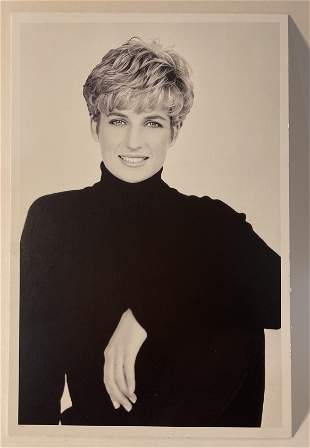 Princess Diana Print on Paper