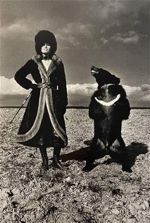 Helmut Newton (Fashion Tigre Royal) Photo-Litho