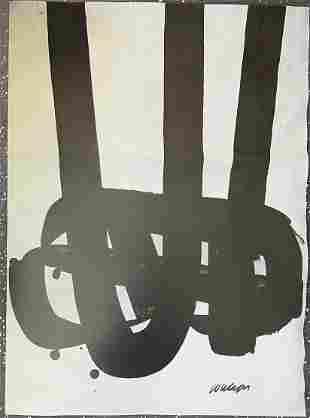 Pierre Soulages No. 29 Print