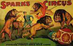 Sparks Circus Poster