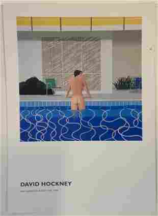 David Hockney (Peter Getting Out of Nicks Pool)