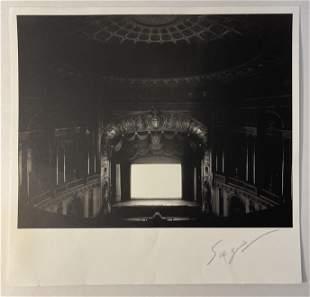 Hiroshi Sugimoto Print on Wove Paper Pencil Signed