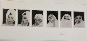 Cindy Sherman (Untitled) Signed Photo-Litho