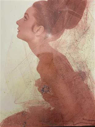 Herb Ritts - Audrey Hepburn Photographic Print