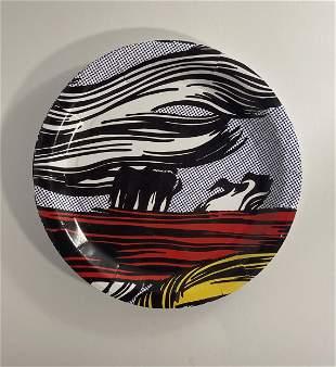 Roy Lichtenstein Brushstroke Plates (Lot of 7)