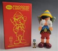 Kaws Pinocchio & Jiminy Cricket 2010 (w/box)