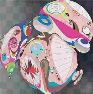 Takashi Murakami (Melting Dob E) Signed & Numbered