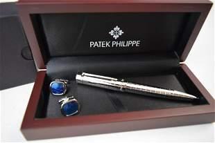 Patek Philippe Pen and Cufflinks
