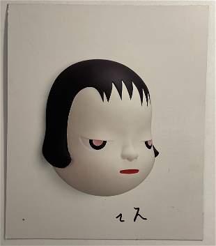 Yoshitomo Nara (Untitled) Hand Signed Print in Colors