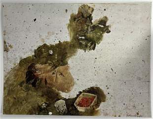 Andrew Wyeth, Untitled, Hand Signed Print in Colors