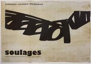 Pierre Soulages (Calouste Gulbenkian) Print