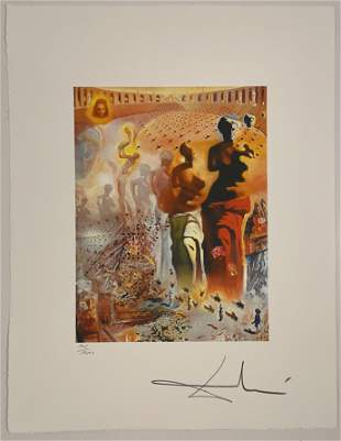 Salvador Dali, Signed and Numbered (Lithograph)