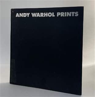 Andy Warhol Hand Drawn and Signed (Prints) Book