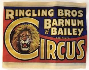 Ringling Bros & Barnum Bailey Circus Poster