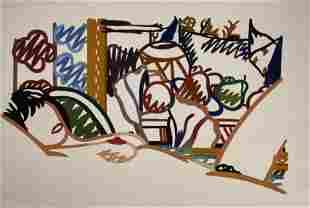 Tom Wesselmann - Untitled - Pencil Signed