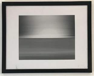 Hiroshi Sugimoto Seascape Silver Gelatin Photo