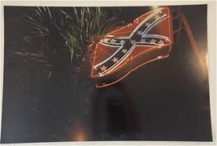 William Eggleston - Confederate Flag - Colored Print