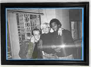 Jean-Michel Basquiat, Andy Warhol, Keith Haring, Photo
