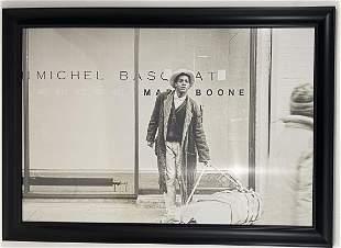 Jean-Michel Basquiat - Photographic Print - Framed