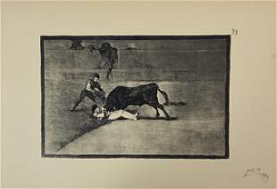 After Francisco Goya Etching on Paper, 20th c. printing