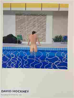 David Hockney (Peter Getting Out of Nicks Pool) Print