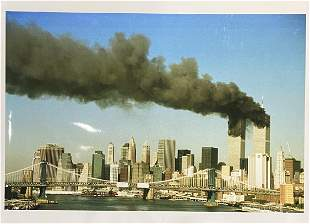 September 11, 2001 Attacks Glossy Photographic Print