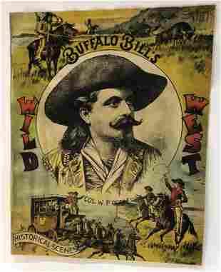 Reprint of Buffalo Bill Wild West Poster