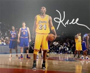 Kobe Bryant Hand Signed Photograph