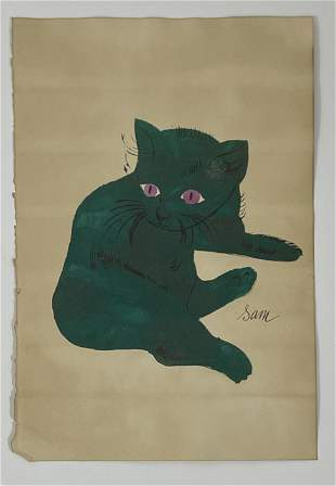 Andy Warhol - 25 (Cats) Offset Lithograph