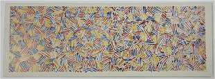 Jasper Johns (Untitled) Offset Lithograph in Colors