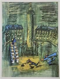 Ludwig Bemelmans 1960 Madeline Print