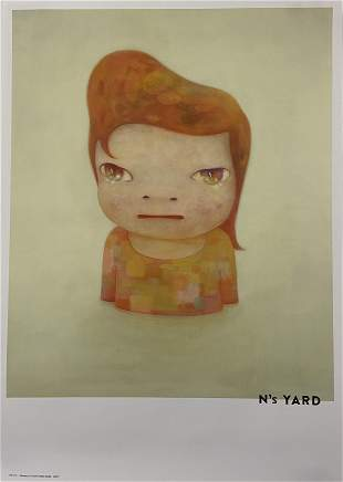 Yoshitomo Nara (Ns) Yard Print on Paper