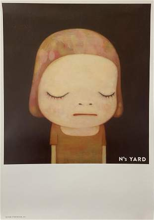 Yoshitomo Nara (Ns Yard) Signed Print on Paper