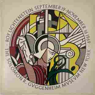 Roy Lichtenstein Pencil Signed Screenprint