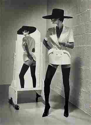 Helmut Newton (Fashion Mugler, Paris 1996) Photo-Litho