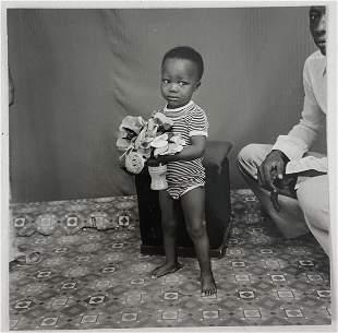 Malick Sidibe (Untitled) Glossy Photo-Litho