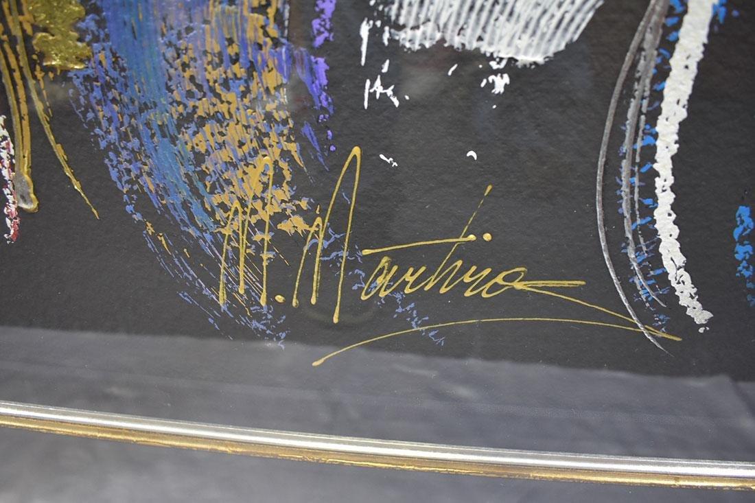 "M. MARTIROS Serigraph - Demure Spirit"" A.P. 53/80 - 2"
