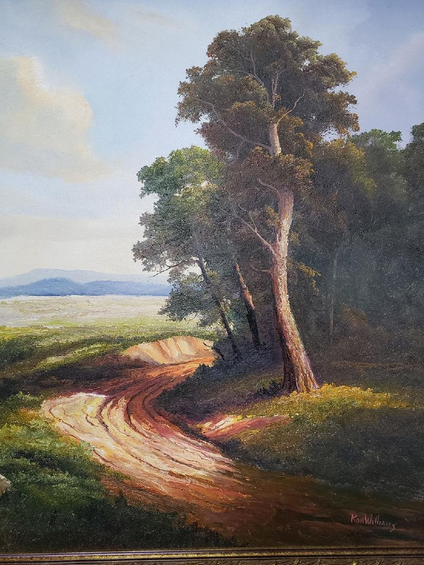 Ron Williams Oil on Canvas Landscape Painting - 3