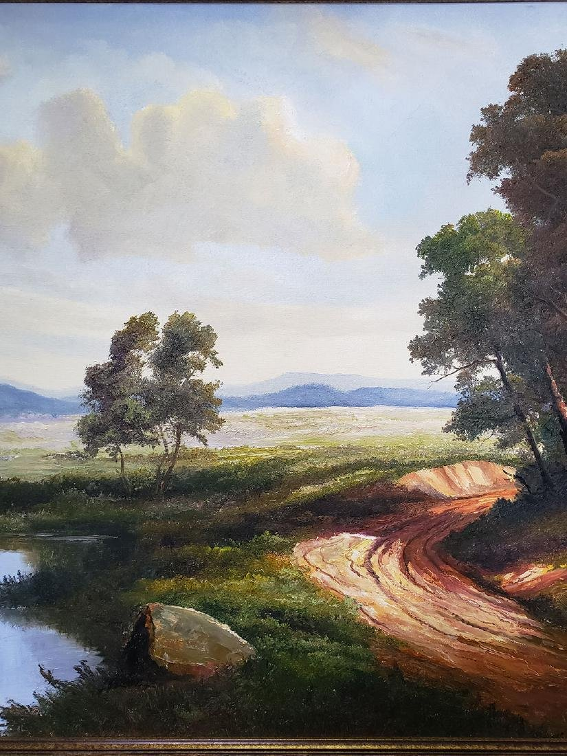 Ron Williams Oil on Canvas Landscape Painting - 4