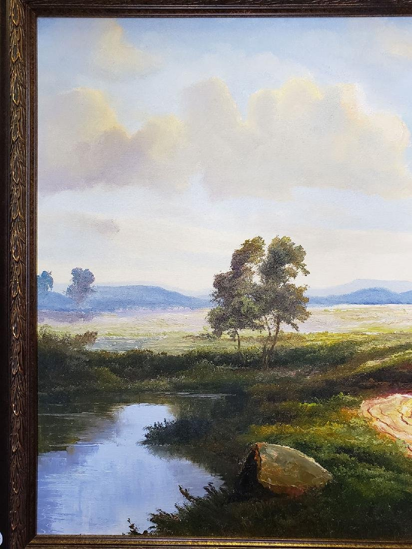 Ron Williams Oil on Canvas Landscape Painting - 5